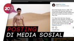 Pavel Durov Rela Telanjang Dada Demi Telegram