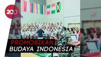 Gema Indonesia Raya di Sekolah Internasional Awty di Texas