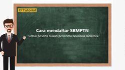 DTutorial Mendaftar SBMPTN Non-Bidikmisi