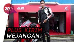 Saat Darius Sinathrya Menggeber Ketangguhan Honda CBR