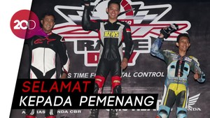 Keseruan Balapan Indonesia CBR Race Day 2018