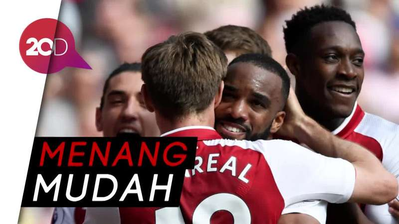 Arsenal Benamkan West Ham 4-1