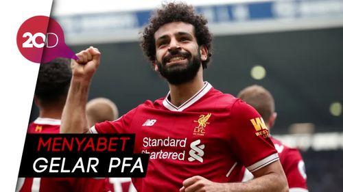 Salah Pemain Terbaik Liga Inggris