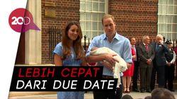Kate Middleton Lahirkan Anak Ketiga