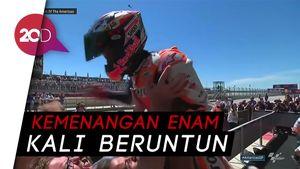 Marquez Tak Terkalahkan di GP Austin