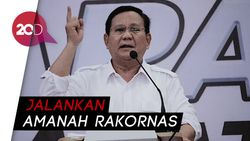 Gerindra: Prabowo Tetap Capres, Ada Kemungkinan Menang Pilpres