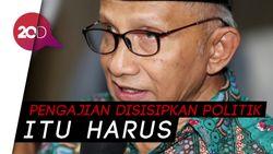 Saat Jokowi Diledek Amien Rais di Balai Kota DKI Jakarta