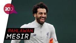 Mohamed Salah Kebanggaan Warga Mesir
