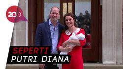 Muncul Perdana dengan Anak Ketiga, Kate Middleton Cantik Banget