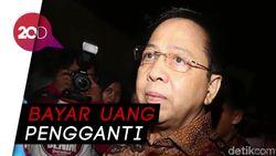 Novanto Dihukum Bayar Uang Pengganti Sebesar USD 7,3 juta