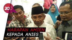 Amien Rais Ramal Anies: Insya Allah Jadi Penyelamat Negeri