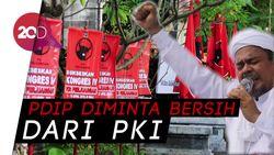 Heboh Habib Rizieq Terima Kunjungan Politikus PDIP