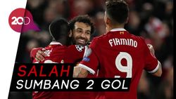 AS Roma Dibekuk Liverpool 2-5