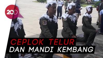 Melihat Ritual Wajib untuk Pilot Baru Lanud Iswahjudi