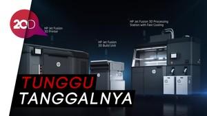 HP Akan Hadirkan Printer 3D di Indonesia