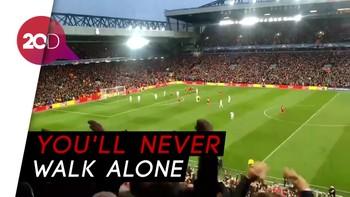 Gemuruh Anfield dan Euforia Gol Pembuka Salah