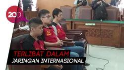 Tiga Terdakwa Penyelundup Sabu 1 Ton Divonis Hukuman Mati
