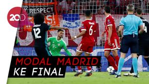 Melihat Gol-gol Real Madrid vs Bayern Munich