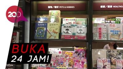 Wisata Malam ke Toko Buku 24 Jam di Taiwan