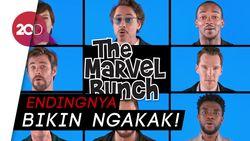 Kocak! Ketika Para Avengers Nyanyikan The Marvel Bunch