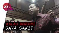 Novanto Bantah Bisa Berdiri saat Dirawat, Novanto: Ngarang Itu!