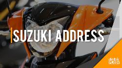 Suzuki Address Playful yang Penuh Warna
