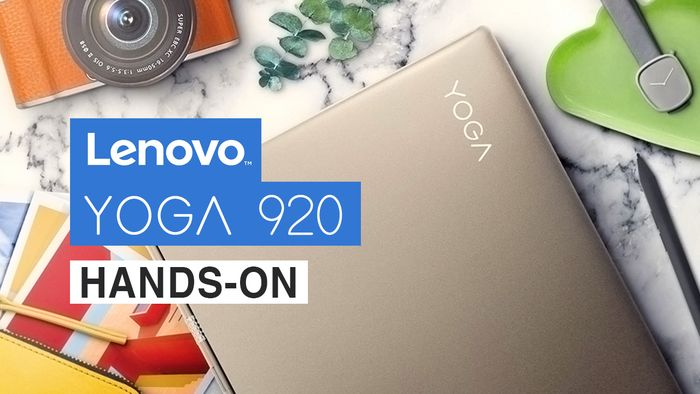 Lenovo Yoga 920, Hadir dengan Desain yang Stylish