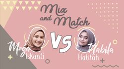Mix and Match Mega Iskanti VS Nabila Hatifa