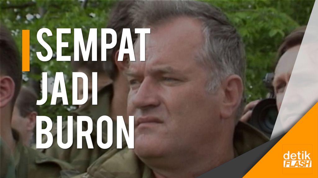 Mladic, Jagal Bosnia Pembantai Muslim Dihukum Penjara Seumur Hidup