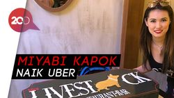 Marah Dibuntuti Drivernya, Miyabi Semprot Uber Filipina