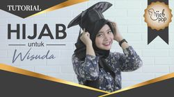 Cantiknya Hijab untuk Wisuda