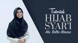 Tutorial Hijab Syari Ala Bella Almira