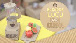 Lucunya Blender yang Terbuat dari Kardus