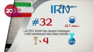 Profil Timnas Piala Dunia 2018 - Iran