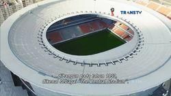 Ekaterinburg Arena, Stadion Megah dengan Renovasi Unik