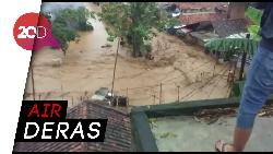 Diguyur Hujan Lebat, Cicaheum Banjir
