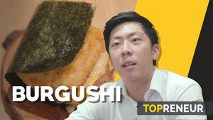 Uniknya Menyantap Burger dengan Cita Rasa Sushi
