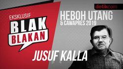 Blak-blakan Jusuf Kalla, Heboh Utang dan Cawapres 2019
