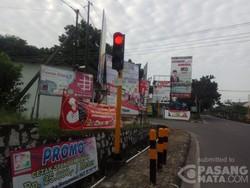 Baliho di Sepanjang Jalan Sudirman Bikin Rusak Mata