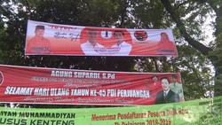 Jelang Pilkada, Atribut Kampanye Hiasi Ngemplak