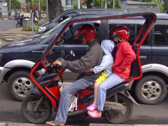 Kumpulan Modifikasi Lucu Sepeda Motor Yang Mungkin Belum Kamu Ketahui