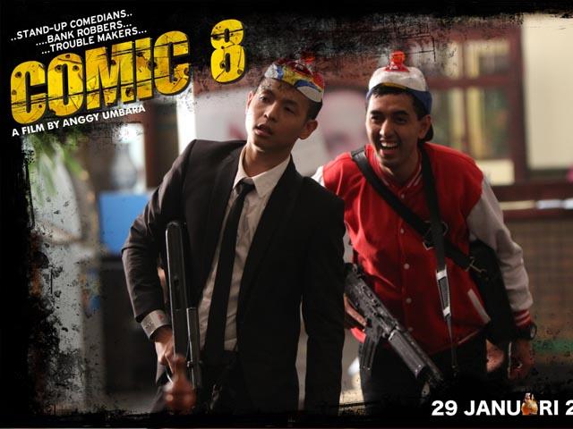 Foto Foto Adegan Seru Di Film Comic 8