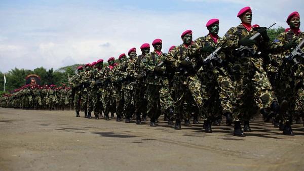 Keterlibatan TNI di RUU Antiterorisme