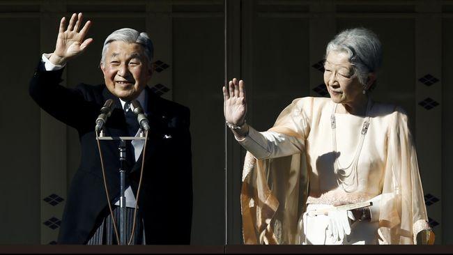 Kabinet Jepang Loloskan RUU Abdikasi Kaisar