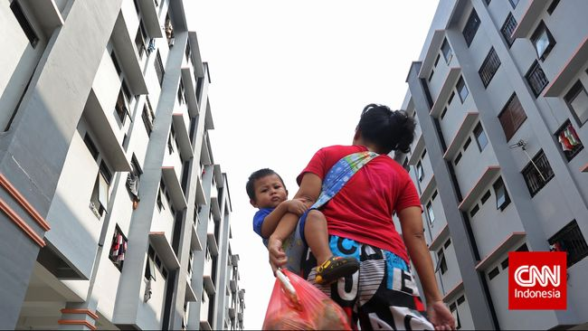 Jokowi Yakin Buruh Mampu Bayar DP Rusunami 1 Persen
