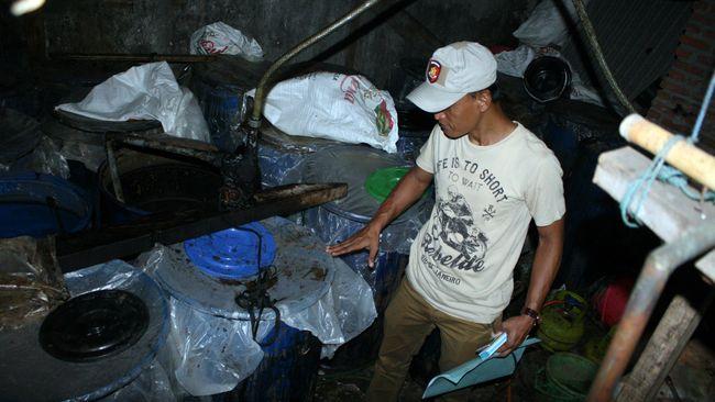 Pesta Miras Oplosan Campur Jengkol Berujung Maut