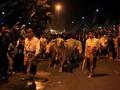 Kebo Bule Keraton Solo Jalani Gladi Resik Kirab Malam 1 Suro