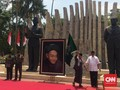 Tongkat Pendiri NU dan Pataka Majapahit di Tengah Hari Santri