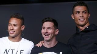 Lupakan Neymar, Tinggal Pilih Ronaldo atau Messi