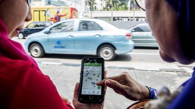 Polisi Mulai Tindak Driver Transportasi <i>Online</i> Nakal